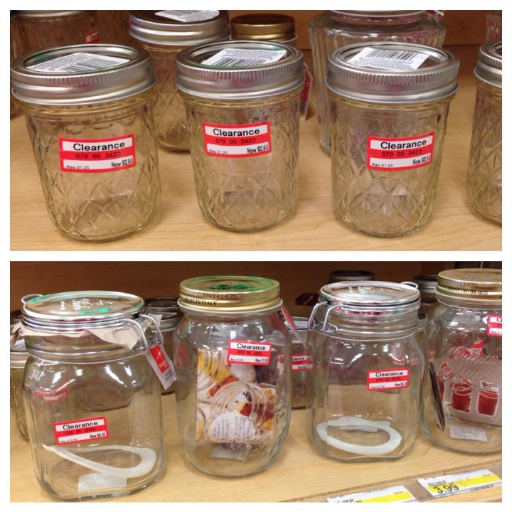 target clear jars 50