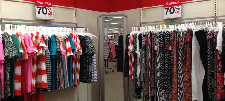target clear women clothes