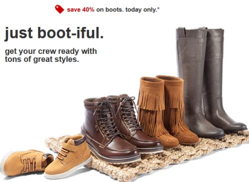 target.com boots deal pic