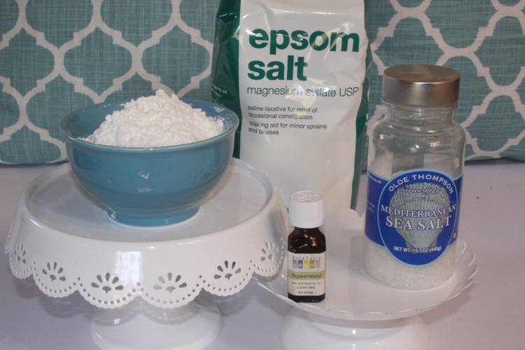 Ingredients Peppermint Bath Salt