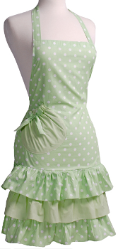 flirty apron green