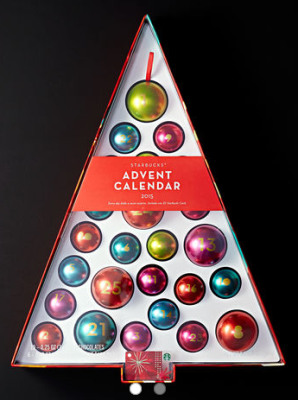 strabucks store advent calendar pic