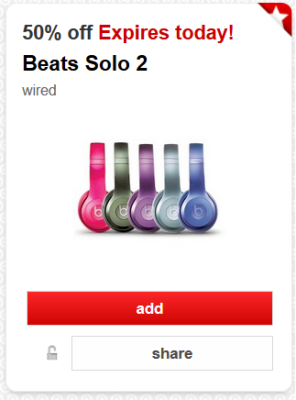 target beats cw offer pic