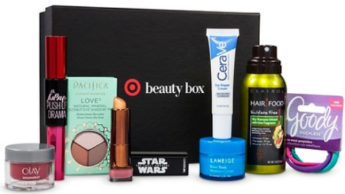 target beauty box her pic