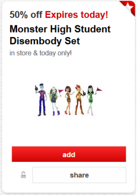 target cw 50 offer 1 pic