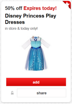 target cw offer frozen pic