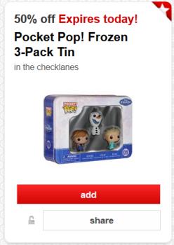 target cw offer frozen pop pic