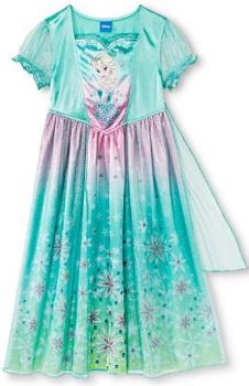 target disney night gown
