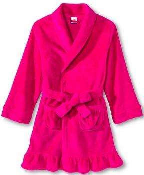 target girl robe