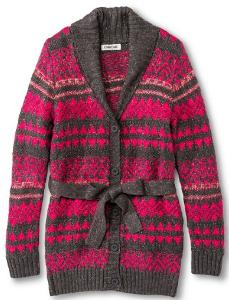 target girls sweater