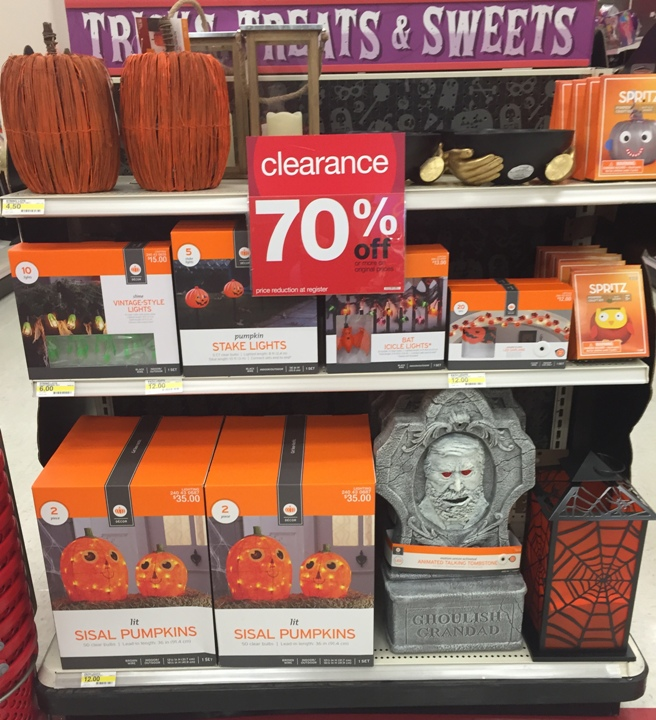 target halloween clearance pic