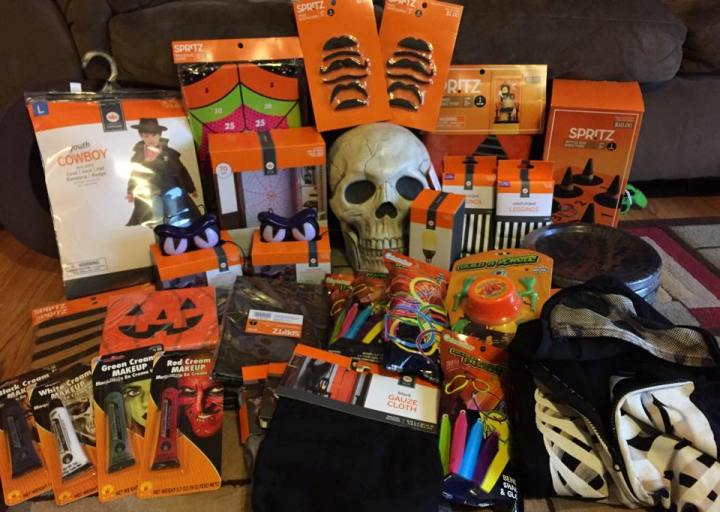 target halloween read clear new lacey