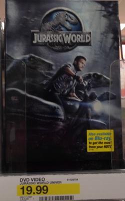 target jurassic world dvd
