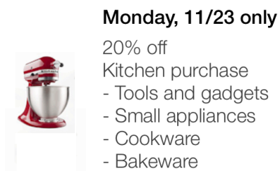 target mobile coupon kitchen pic