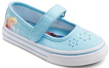 target shoes frozen