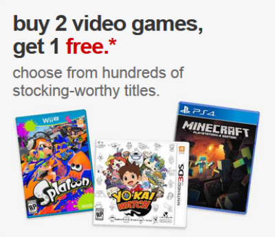 target.com bogo video games pic