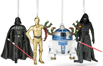 thinkgeek ornaments