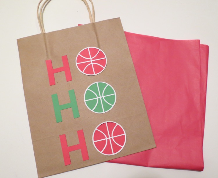 Basketball gift bag