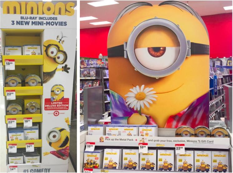 Target sells Minions movie