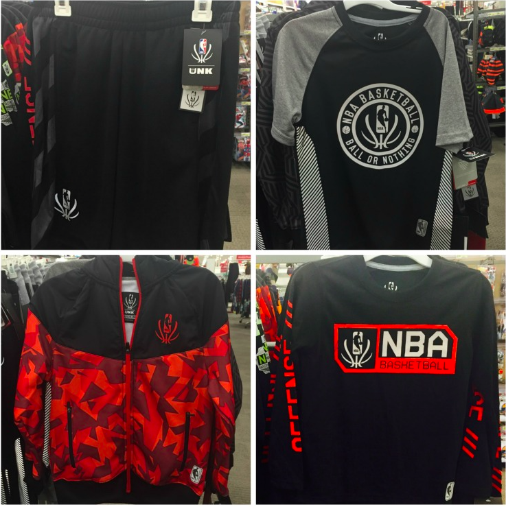 NBA Reflective Collection for youth and men