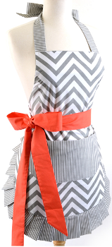 flirty apron red belt