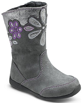 stride rite boot gray