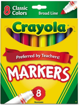 target crayola marker pic