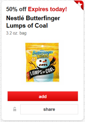 target cw butterfinger pic