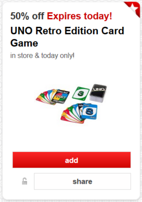 target cw offer card game pic