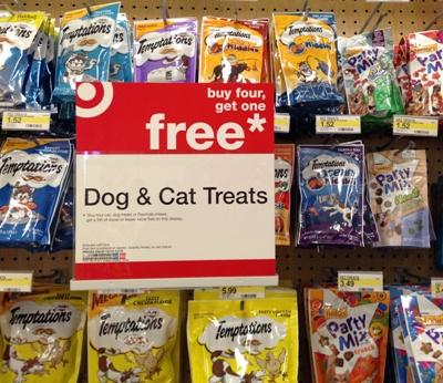 target dog treats pic