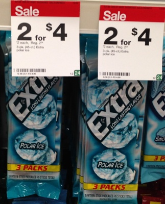 target extra gum