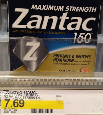 graphic about Zantac Printable Coupon called Significant Worthy of $6/1 Printable Zantac Coupon All Components Aim