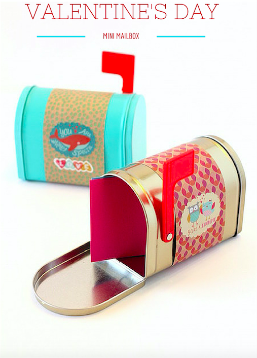 Valentine's Day Mini Mailbox from the Target Dollar Spot