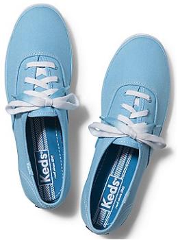 keds blue shoe