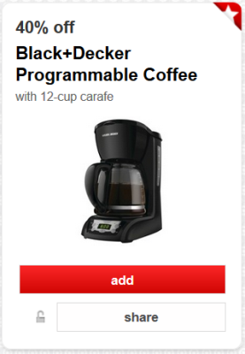 target cartwheel offer black decker pic