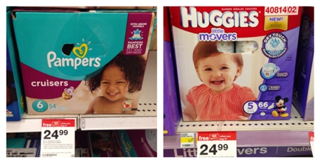 target diapers collage pic