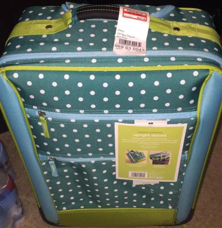target read clear new nicky suitcase 70