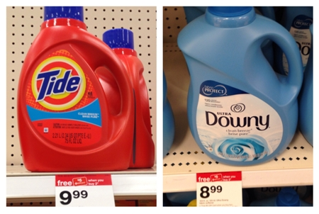 target tide downy collage pic
