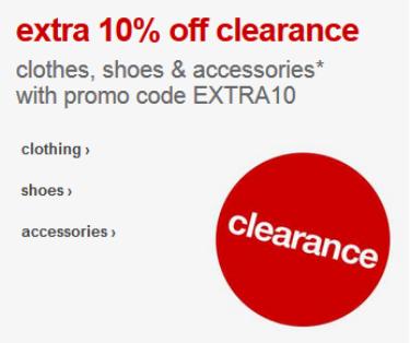 target.com extra 10