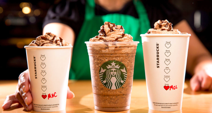 Starbucks Valentines Drinks