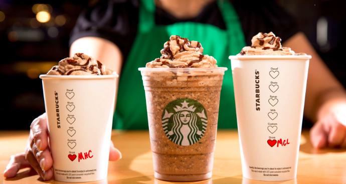 Starbucks Valentines Drinks