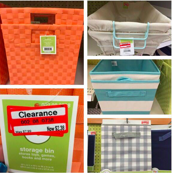 Target Clearance Storage Containers 70 off All Things Target