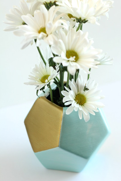 DIY Painted Ceramic Planter