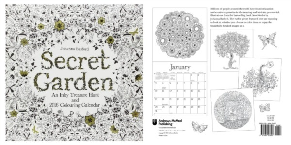 amazon secret garden collage