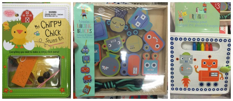 art kits target dollar spot