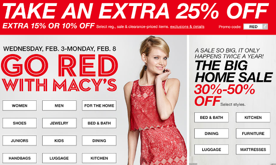 macy go red sale pic