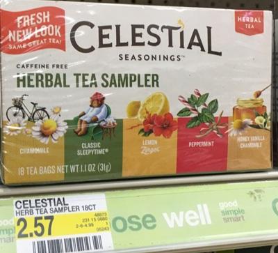 target celestial tea