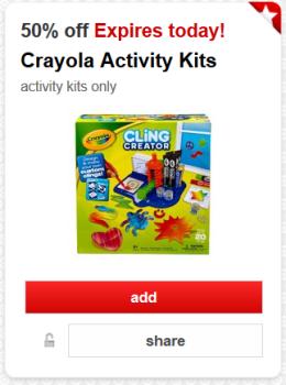 target crayola cw offer pic