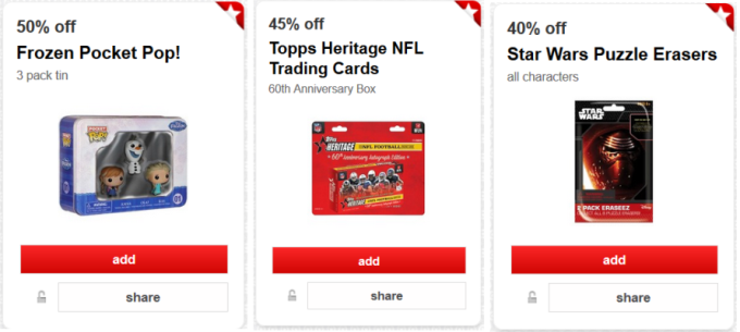 target cw offer collage