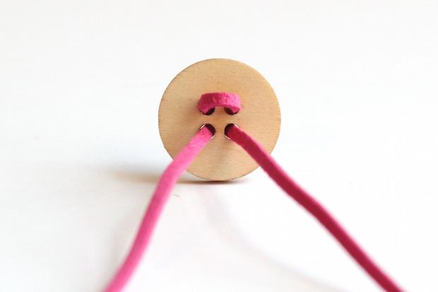 DIY Button Bracelet